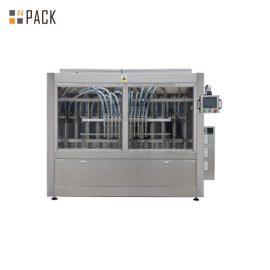 পিএলসি কন্ট্রোল অটোমেটিক পেস্ট ফিলিং মেশিন 250ML-5L তরল সাবান / লোশন / শ্যাম্পুর জন্য