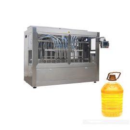 10 অগ্রভাগ রান্না তেল ভর্তি মেশিন, ভোজ্য উদ্ভিজ্জ তেল বোতলজাত সরঞ্জাম 0.5-5L 3000 বি / এইচ